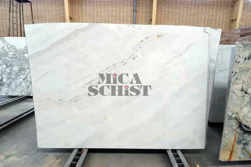 Mountain Bianco Marble Stone Slabs