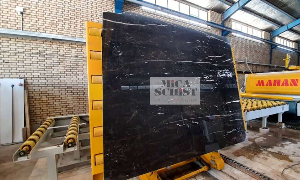 golden galaxy black marble